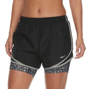 NWT Women's Nike 2-in-1 Tempo Running Shorts Small